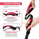 View Image 3 of Gooby Pioneer Dog Leash - Sand