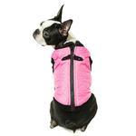 View Image 2 of Gooby Fashion Quilted Dog Vest - Pink