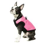 View Image 1 of Gooby Fashion Quilted Dog Vest - Pink