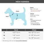 View Image 3 of Gooby Soft Mesh Dog Harness - Pink