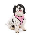 View Image 6 of Gooby Soft Mesh Dog Harness - Pink