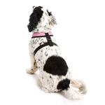 View Image 4 of Gooby Soft Mesh Dog Harness - Pink