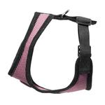 View Image 2 of Gooby Soft Mesh Dog Harness - Pink