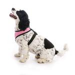 View Image 5 of Gooby Soft Mesh Dog Harness - Pink