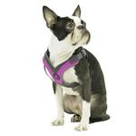 View Image 5 of Gooby Trekking Step-in Memory Foam Dog Harness - Purple