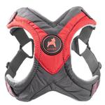 View Image 1 of Gooby Trekking Step-in Memory Foam Dog Harness - Red