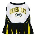 View Image 1 of Green Bay Packers Cheerleader Dog Dress