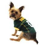 View Image 1 of Green Bay Packers Officially Licensed Dog Jersey - Yellow Trim
