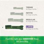 View Image 3 of Greenies Original Dental Dog Chews - Large Dog Size