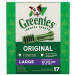 View Image 1 of Greenies Original Dental Dog Chews - Large Dog Size