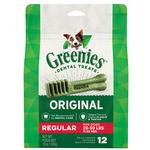 View Image 1 of Greenies Original Dental Dog Chews - Regular Dog Size