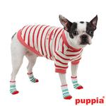 View Image 2 of Grinch Dog Socks by Puppia - Red