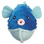 View Image 1 of Grriggles Aquadudes Dog Toy - Puffer Fish