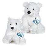 View Image 2 of Grriggles Arctic Buddy Dog Toy - Polar Bear