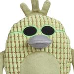 View Image 2 of Grriggles Corduroy Cool Dudes Dog Toy - Green Duck