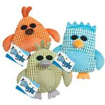 View Image 3 of Grriggles Corduroy Cool Dudes Dog Toy - Green Duck