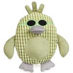 View Image 1 of Grriggles Corduroy Cool Dudes Dog Toy - Green Duck