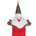 View Image 1 of Grriggles Holiday Squeaktacular Dog Toy - Santa