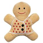 View Image 1 of Grriggles Scented Gingerbread Man Dog Toy - Light Brown