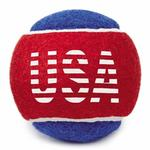 View Image 1 of Grriggles Stars and Stripes Tennis Balls Dog Toy