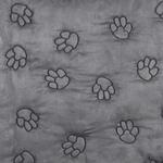 View Image 2 of Guardian Gear Pawprint Seat Covers - Charcoal