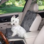 View Image 1 of Guardian Gear Pawprint Single Seat Cover - Charcoal