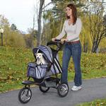 View Image 1 of Guardian Gear Sprinter EXT II Dog Stroller - Steel Blue