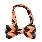 View Image 1 of Halloween Chevron Dog Bow Tie