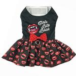 View Image 1 of Halloween Dog Harness Dress by Doggie Design - Girls Bite Back