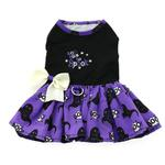 View Image 4 of Halloween Dog Harness Dress by Doggie Design - Too Cute to Spook