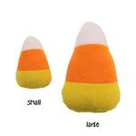 View Image 1 of Halloween Plush Candy Corn Dog Toy