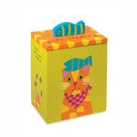 View Image 1 of Up Country Hand Painted Cat Treat Box