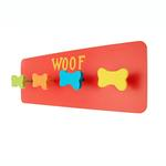 View Image 1 of Hand Painted Leash Holder - Red