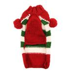 View Image 3 of Handmade Christmas Elf Wool Dog Sweater