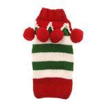 View Image 2 of Handmade Christmas Elf Wool Dog Sweater