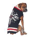 View Image 1 of Handmade Nordic Ski Team Wool Dog Sweater