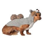 View Image 1 of Handmade Squirrel Hooded Wool Dog Sweater