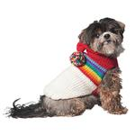 View Image 1 of Handmade Vintage Ski Hoodie Wool Dog Sweater