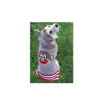 View Image 3 of Handmade Wool Monkey Dog Hoodie with Ears