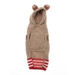 View Image 2 of Handmade Wool Monkey Dog Hoodie with Ears