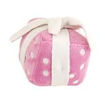 View Image 1 of Happy Birthday Gift Dog Toy by Hip Doggie - Pink