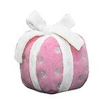 View Image 2 of Happy Birthday Gift Dog Toy by Hip Doggie - Pink