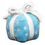 View Image 2 of Happy Birthday Gift Dog Toy by Hip Doggie - Blue