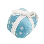 View Image 1 of Happy Birthday Gift Dog Toy by Hip Doggie - Blue