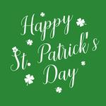 View Image 2 of Happy St. Patrick's Day Dog Shirt - Green