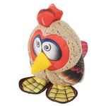 View Image 1 of Happy Tails Loonies Durable Dog Toy - Zany Rooster