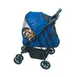 View Image 1 of Happy Trails Dog Stroller - Cobalt Blue