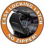 View Image 3 of Happy Trails Lite No-Zip Pet Stroller - Pine Green