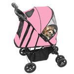 View Image 1 of Happy Trails Dog Stroller - Pink Ice
