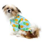 View Image 4 of Hawaiian Camp Shirt by Doggie Design - Pineapple Luau